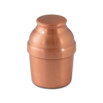 Lamar Spun Copper Keepsake Urn