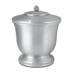 Houston Spun Pewter Urn