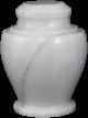 Carpel Antique White Adult Urn